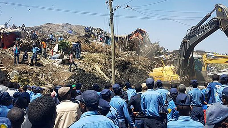 Addis Ababa: Massive rubbish landslide kills dozens