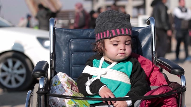 'Unprecedented suffering' for Syrian children in 2016