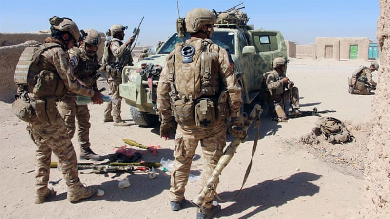 Afghan soldier open fire on USA  soldiers in Helmand leaving 3 wounded