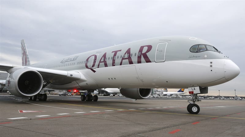 Qatar Airways also owns a 20 percent stake in London's Heathrow Airport (File: Michael Probst/AP]