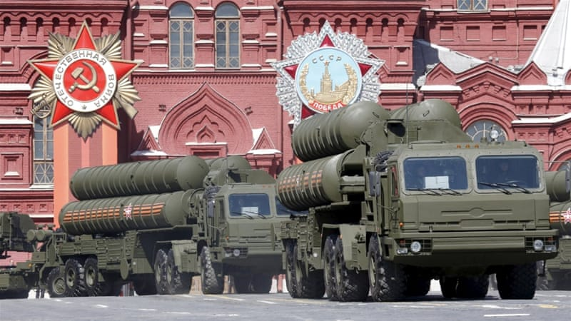 Bildergebnis für russian ss 400 defense rockets in aparade in moscow images
