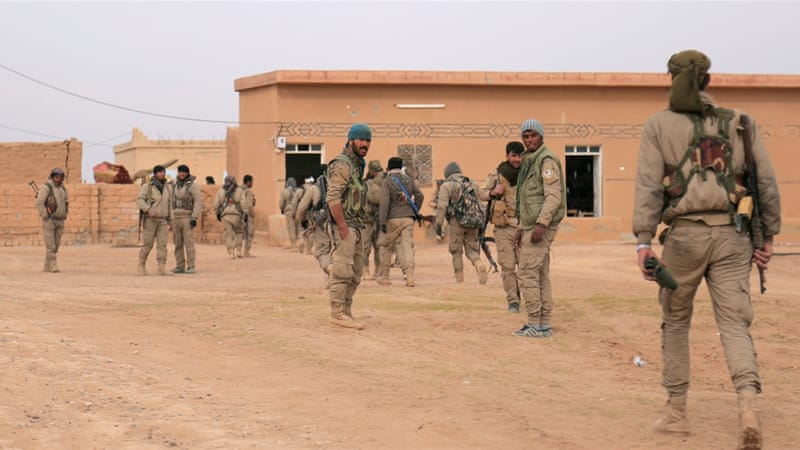 Additional Forces Arrive to Fight Islamic State Near Raqqa