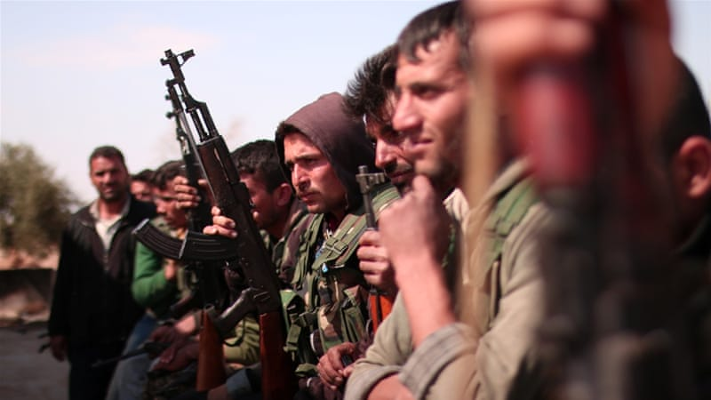 Backed fighters to pause military action near Syria dam