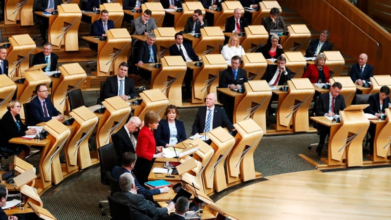 Scotland to make formal request to hold second independence vote