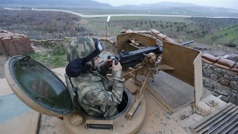 Euphrates Shield troops now control about 2,000 sq km of territory in northern Syria [Reuters]