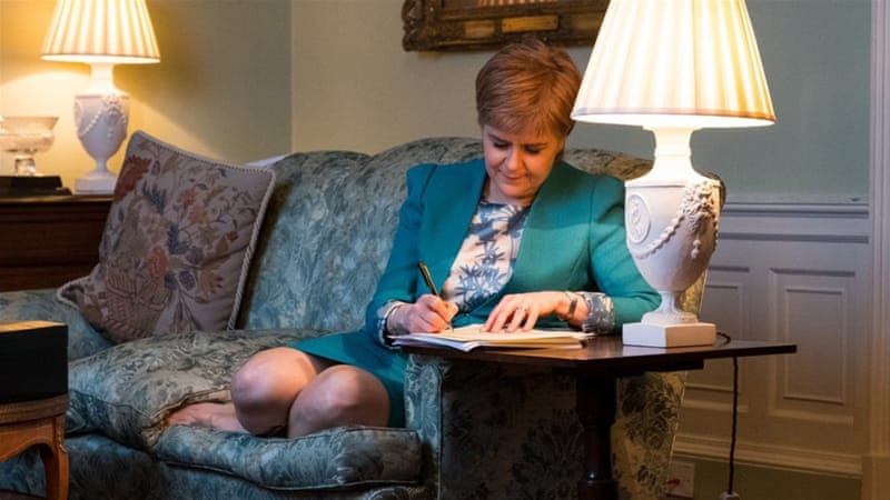 Scotland requests second referendum on independence
