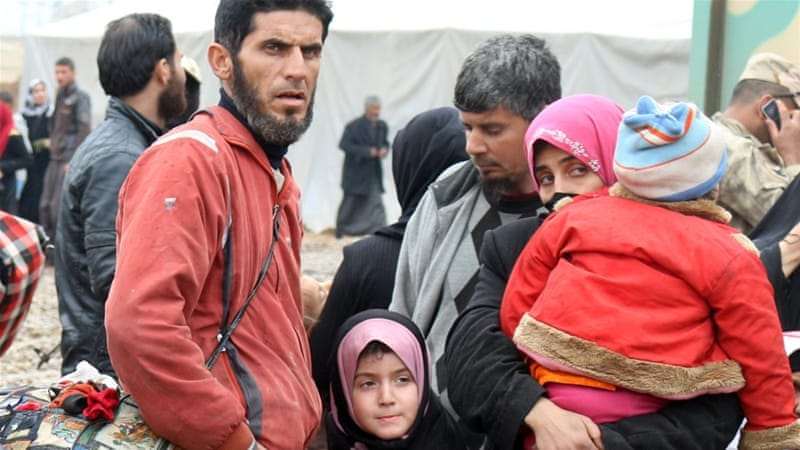 200,000 displaced by Mosul attack