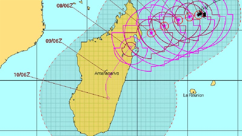 Tropical cyclone Enawo lands in Madagascar