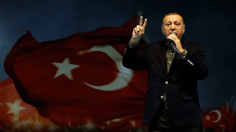 Germany calls Turkish president's Nazi comparisons 'absurd'