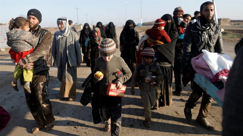 More than 200,000 people have been displaced by Mosul offensive [Zohra Bensemra/Reuters]