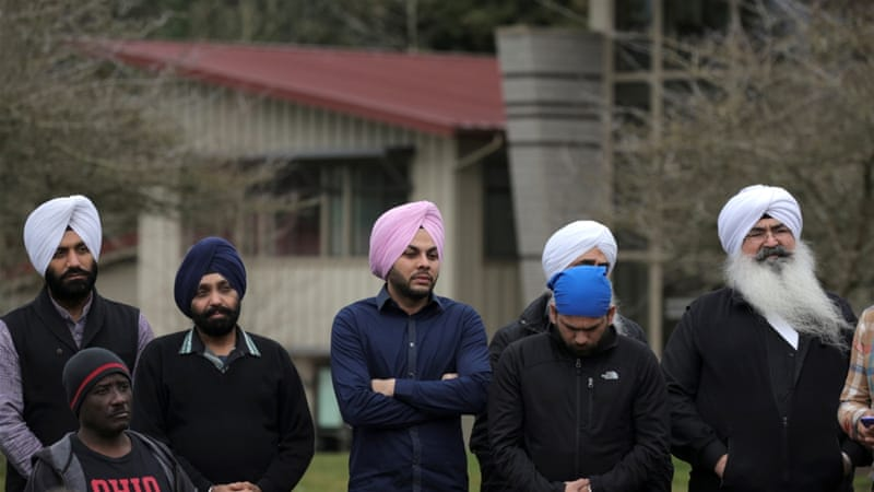 The Sikh community claims there have been increasing complaints by Sikhs near Seattle who say they have been the target of foul language [Reuters]