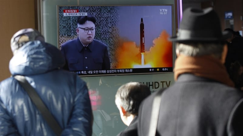 North Korea warned of 'merciless nuclear counter-action' against Seoul and Washington's joint military exercises [EPA]