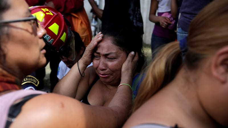 At least 31 dead as fire ravages youth shelter in Guatemala