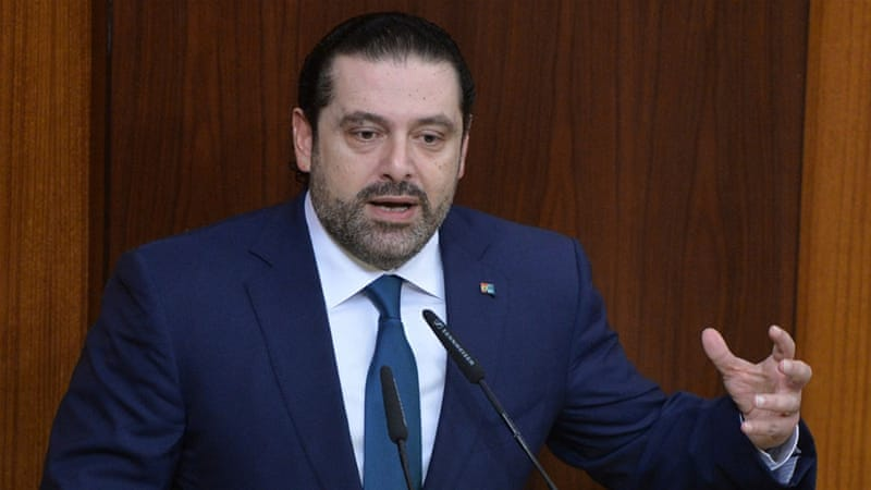 Hariri said the refugee influx has stretched Lebanon's economy to its limit [File: Hassan Ibrahim/AP]