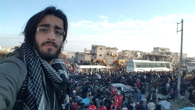 International media relies on citizen journalists and activists to show the world what is happening in Syria [Zouhir Al Shimale/Al Jazeera]