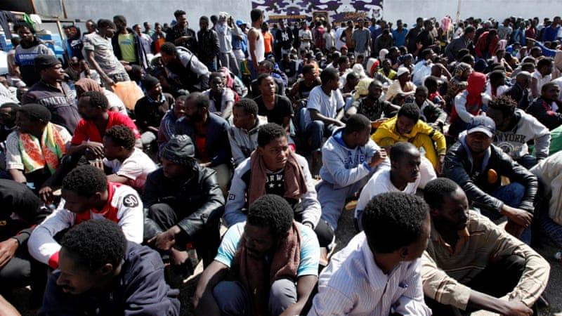 There are an estimated 100,000 African migrants in Algeria [Ismail Zitouny/Reuters]