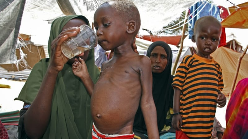 UN: four countries at risk for starvation