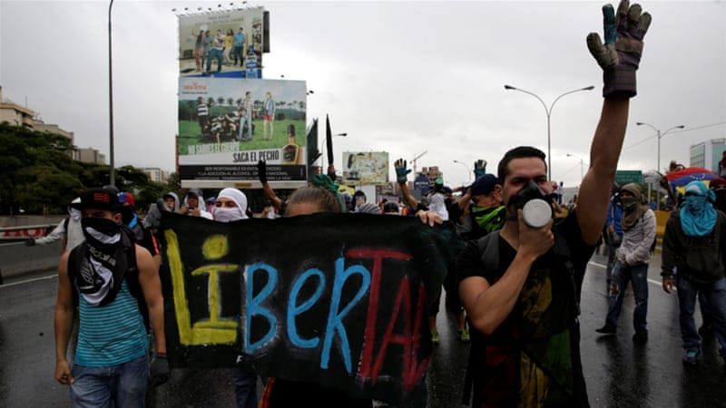 More protests are planned for the coming days across Venezuela