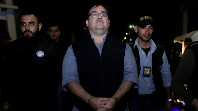 Former Mexico ruling party governor Duarte jailed for nine years