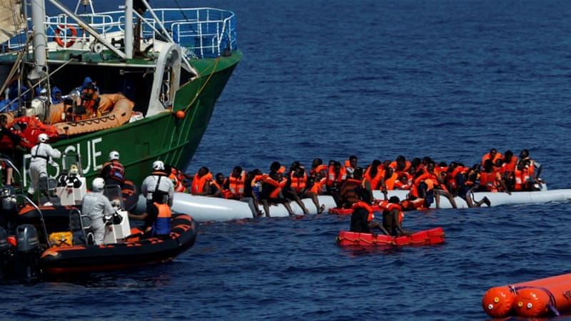 As seas turn calm, Italy rescues more than 6000 migrants