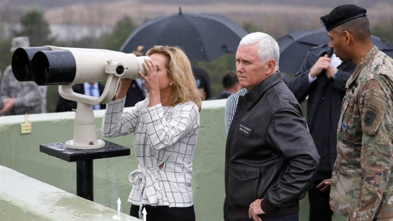 Mike Pence Describes New Strategy To Solve North Korean Nuclear Issue