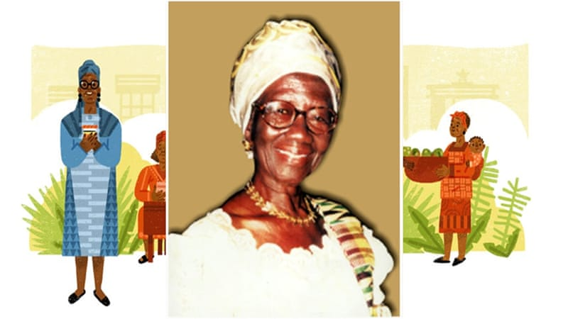 Esther Afua Ocloo, Ghanaian entrepreneur, remembered with Google Doodle