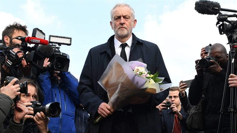 Anyone who takes on the Establishment gets vilified, Jeremy Corbyn says