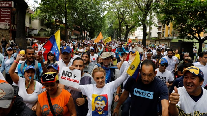 Two killed in Venezuela's 'mother of all protests'