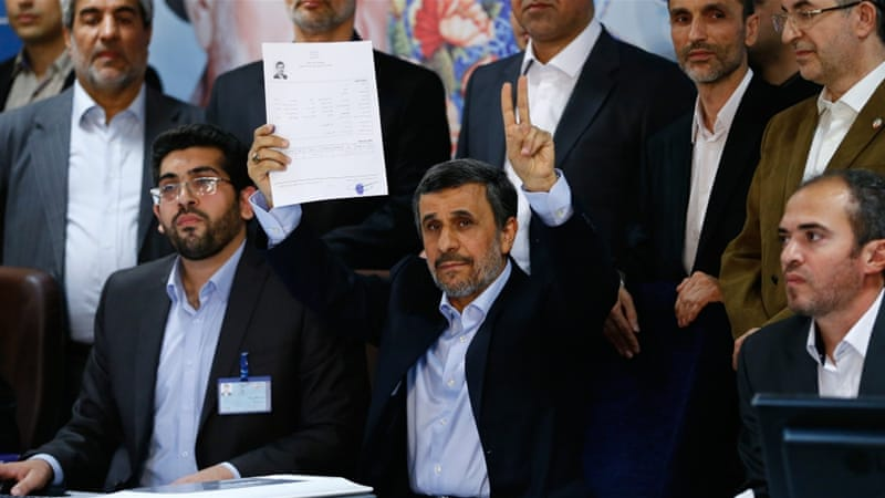 Former Iran leader Ahmadinejad barred from presidential election