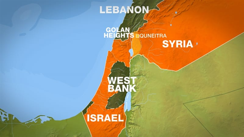 Three Mortars Hit Israel Golan Heights Friday Afternoon