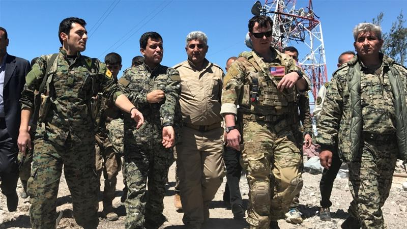 Turkey 'summons top US diplomat' over Syria Kurd forces ...