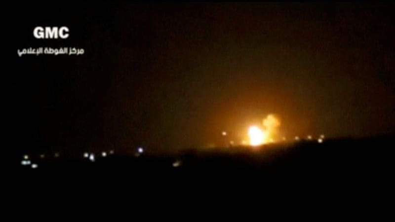Israel strikes Damascus weapns depot