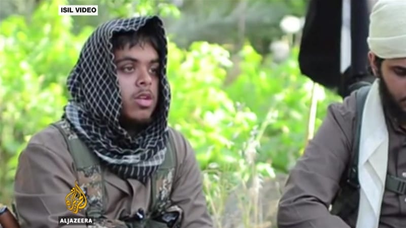 British suspected ISIL fighter Reyaad Khan, left, was killed in a 2015 drone strike [ISIL video]