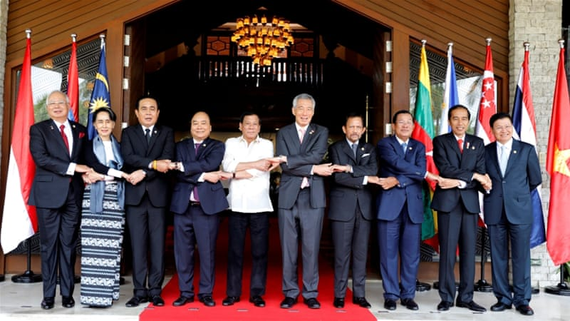 ASEAN welcomes progress on framework for South China Sea code of conduct