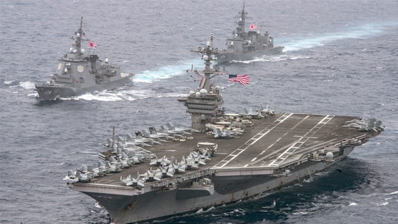 The US decided early on that it would impose its presence and ensure its sovereignty wherever it went, at any cost, writes Amor [US Navy via AP]