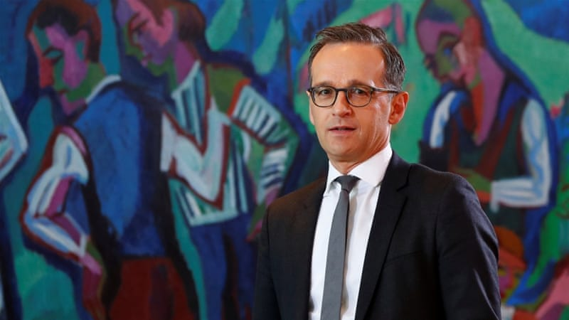 Justice Minister Heiko Maas said that he would seek to push for similar rules at a European level [Fabrizio Bensch/Reuters]