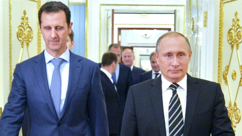 Syria's Assad says chemical attack '100 per cent fabrication'