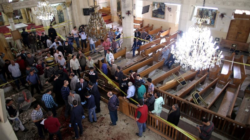 Egypt refers 48 to military court over church bombings