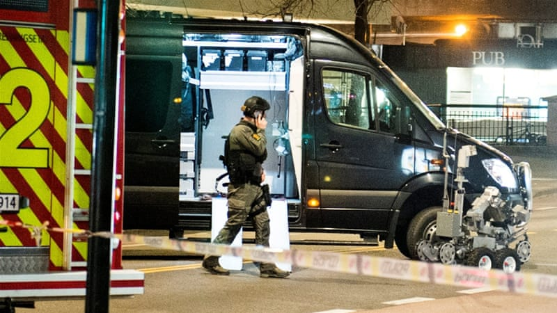 'Bomb-like device' defused in downtown Oslo