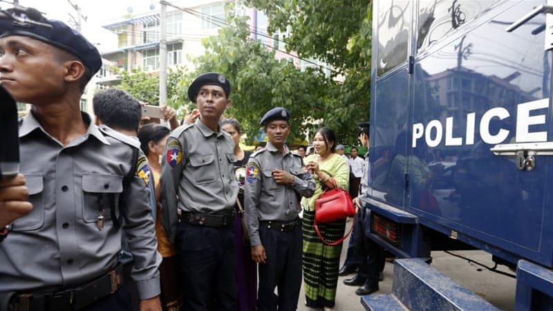 Myanmar arrests Buddhists accused of targeting Muslims
