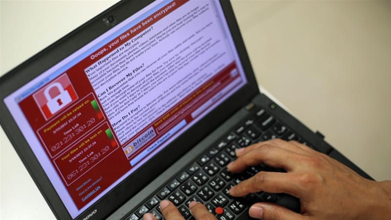 WannaCry encrypts your files and demands payment to regain access [Richie Tongo/EPA]