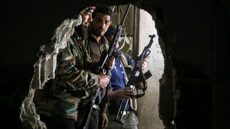 Evacuations of rebels from last Damascus stronghold begins