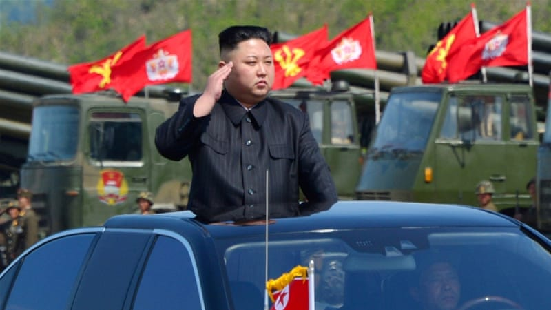 North Korea's leader Kim Jong-un supervised the test [File: KCNA via Reuters]