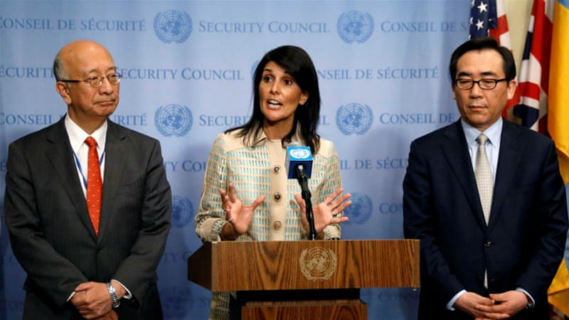 Nikki Haley Vows to 'Call out' Countries Backing North Korea