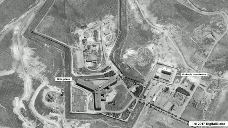 Syria using crematorium to cover up mass hangings, USA claims