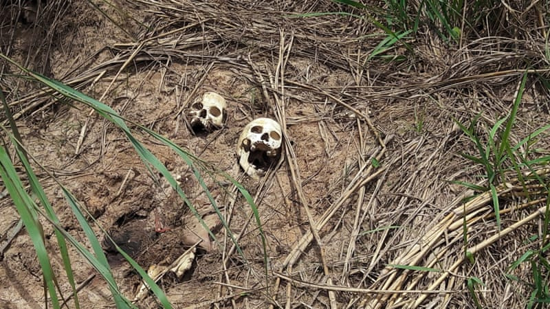 The UN recently said it has uncovered 17 new mass graves in the DRC  [File: Aaron Ross/Reuters]