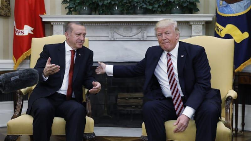 Turkey demands US fire envoy in spat over Syrian Kurds