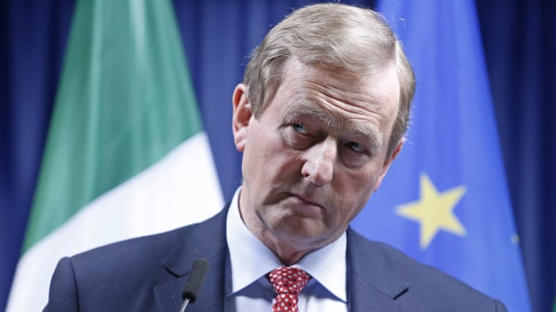 Kenny faced months of pressure to resign over his response to a police scandal [EPA]