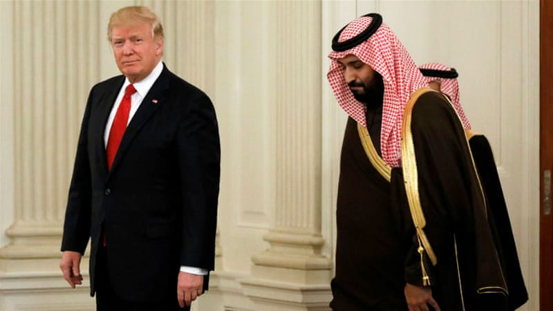 Saudi Arabia counting down the seconds until Trump arrives