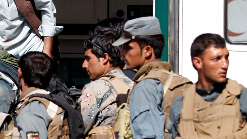 Twenty policemen, dozens of Taliban killed in Shah Joi